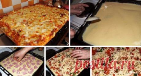 Всегда пеку пиццу по этому рецепту — просто объедение!