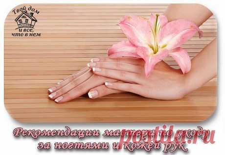 Рекомендации мастера по уходу за ногтями и кожей рук - Экологическое землетворчество | Экологическое землетворчество