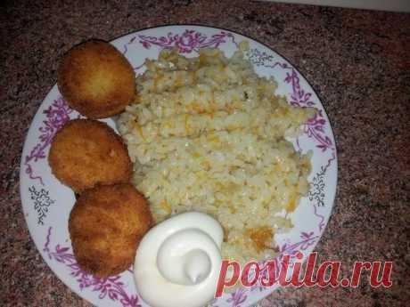 Как приготовить рецепт риса в сковороде за 30 минут - рецепт, ингредиенты и фотографии