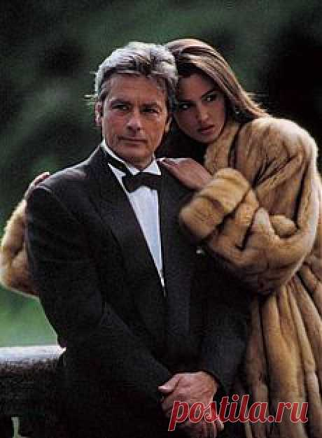 Monica Belucci & Alain Delon