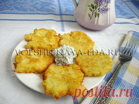 Драники картофельные - 3 рецепта картофельных драников с фото | Волшебная Eда.ру