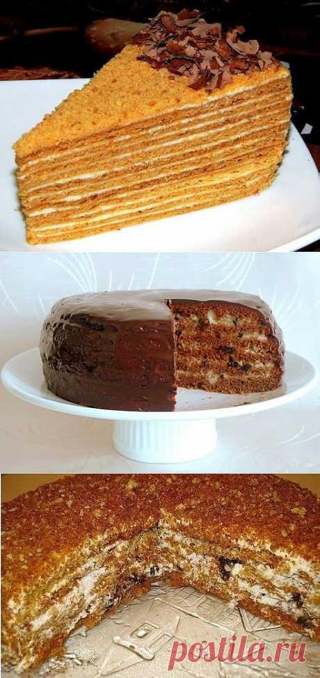 Торт МЕДОВИК - рецепты...