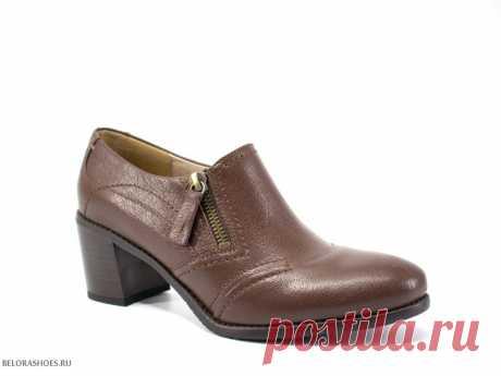 Туфли женские Марко 131111 Женские демисезонные туфли на невысоком каблуке