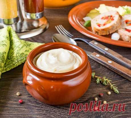 Домашний майонез на целом яйце   Вкусный блог - рецепты под настроение