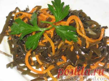 50 рецептов салатов с морской капустой