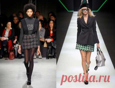 Как носить юбку в клетку этой осенью? Подсказки и вдохновение от тех, кто создает тренды | Simple Style | Яндекс Дзен