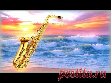 2 Hours - Gold Saxophone the Best \/ Gold Saxophone for Lovers over Ocean