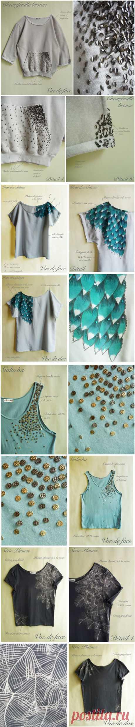 40 простых и стильных способов украсить одежду / Худи / Модный сайт о стильной переделке одежды и интерьера