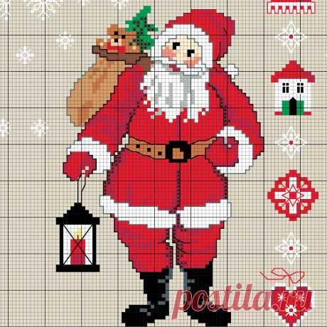 Weihnachtsmann sticken - Entdecke zahlreiche kostenlose Charts zum Sticken! Weihnachtsmann sticken - Entdecke hier dieses Motiv und zahlreiche weitere kostenlose Charts, Stickvorlagen und Step-by-Step Anleitungen zum Sticken.