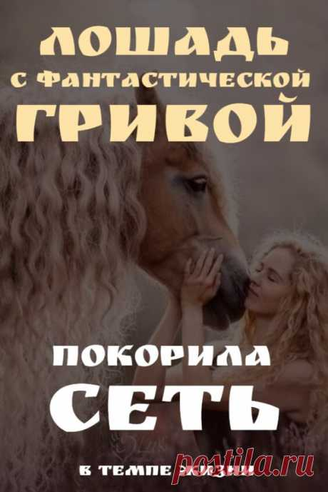 Лошадь с фантастической гривой покорила Сеть | В темпі життя