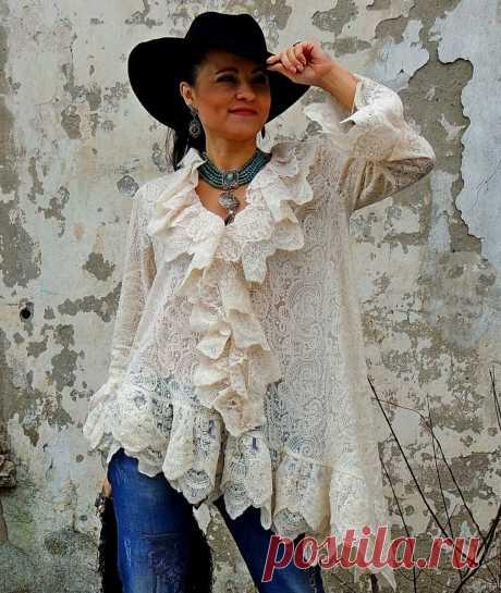 Блузки в стиле БОХО-шик: выбор смелых женщин | INFO💗STYLE | Яндекс Дзен