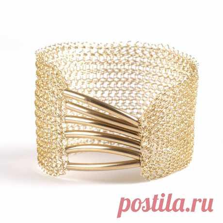 Elegant gold cuff Wedding bracelet Bridal jewelry | Etsy