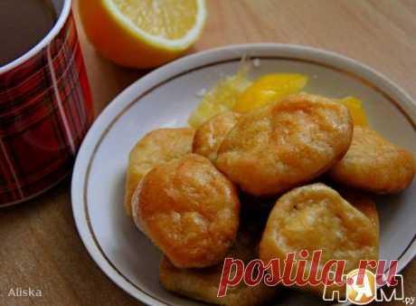 """Восточная турецкая сладость """"Творожная радость"""" О рецепте восточной турецкой сладости Тесто очень похоже на печенье """"Поцелуйчики"""", но вот вариант добавления сладости этому пресному творожному тесту мне очень понравился. Да еще с лимонным вкусом! Очень быстро и вкусно!!!!"""