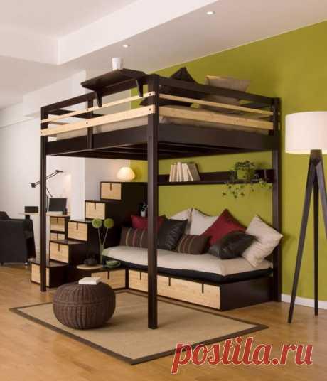 Необычные двуспальные кровати (трафик) / Мебель / ВТОРАЯ УЛИЦА