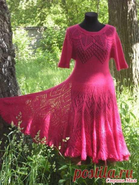 . Он-лайн ажурной кофточки по мотивам ажурной блузы от от Lene Holme Samsoe - Вязание спицами - Страна Мам