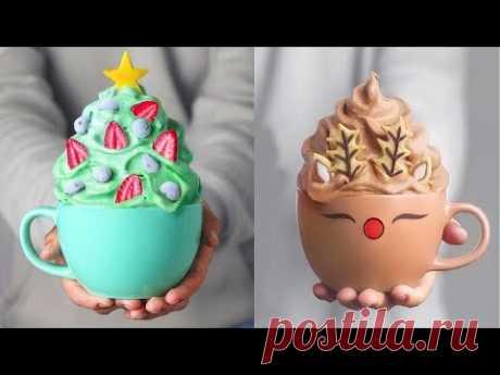 Yummy Winter Cake 🦌⛄️🎄 Christmas Cake Compilation - Holiday Cake Decorating Tutorials (Dec) #22