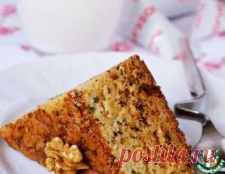 Медово-ореховый пирог на кефире – кулинарный рецепт