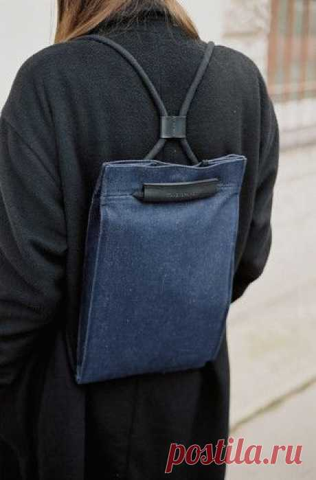 Идеи простых сумок и пару выкроек