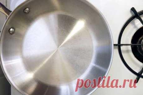Чудо-средство для металлической посуды