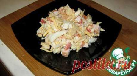 Салат с копченой курицей - кулинарный рецепт