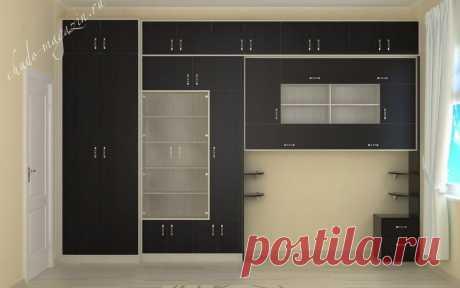 Стенка с распашным шкафом в гостиную на заказ: замер, доставка, материалы, дизайн-проект