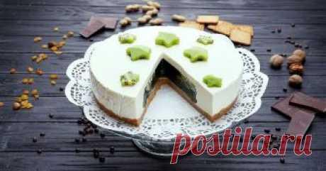 Манящий желейный торт с изумрудной начинкой. Готовится элементарно! Отныне не мучаюсь с долгой выпечкой.