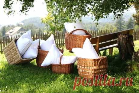 Как стирать подушки из разных материалов