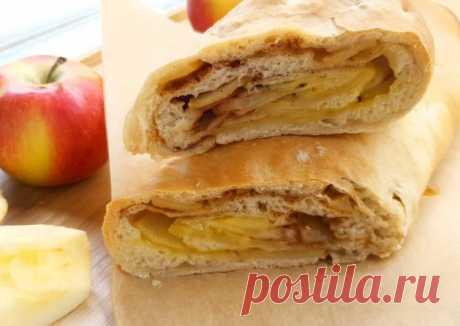 Яблочный штрудель. Постный вариант - пошаговый рецепт с фото. Автор рецепта Almira Malkova . - Cookpad