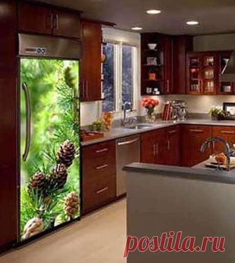 Наклейки на холодильник: необычный дизайн вашего холодильника - Учимся Делать Все Сами