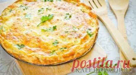 Очень вкусный и воздушный пирог с сыром и сливочным маслом | Калейдоскоп