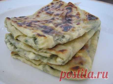 Турецкая лепешка гезлеме - пошаговый рецепт с фото на Повар.ру