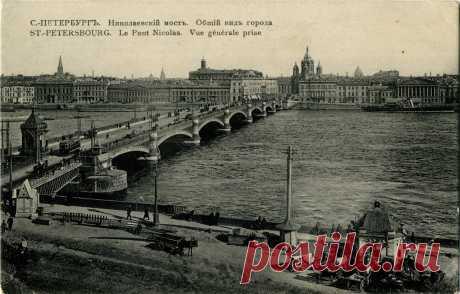 Старые фото Санкт-Петербурга Виды Санкт-Петербурга начала XX векаОбожаю старые фото. Это же машина времени ! Разрешение картинок от 2062x2785px до 3276x2116px в архиве. Ссылка в конце поста.                                       …