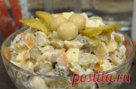 Новогодний салат всего за 5 минут: его всегда съедают первым Вкусный и быстрый!
