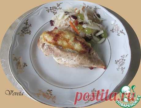 Фаршированная куриная грудка – кулинарный рецепт