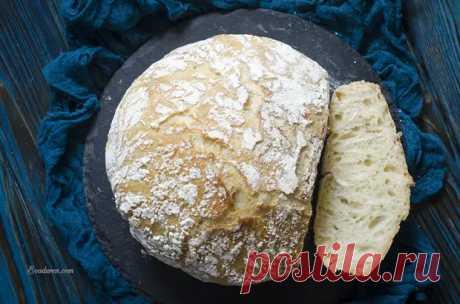 Хлеб без замеса - Вкусно с Любовью - медиаплатформа МирТесен