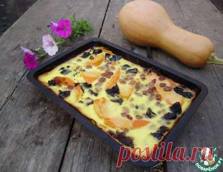 Тыквенная запеканка – кулинарный рецепт