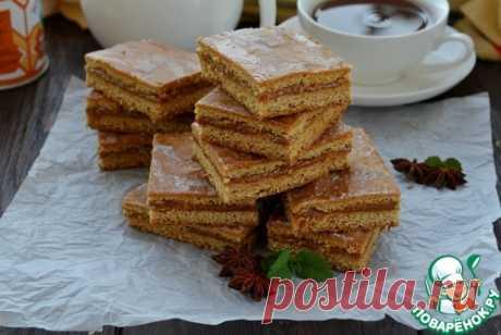 Коврижка с вареной сгущенкой - кулинарный рецепт