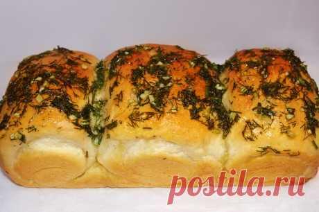 Домашний хлеб с воздушным мякишем и чесночным ароматом (кого угощаю – никто не верит, что пеку сама, ну, очень вкусный) - Женский журнал