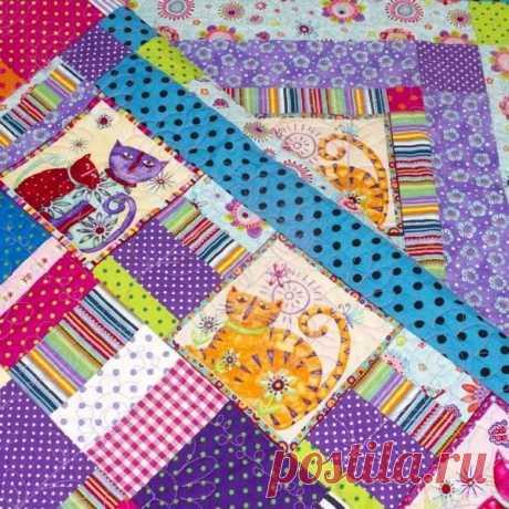 Стиль пэчворк: какие ткани подходят для лоскутного шитья | Купиткань Купиткань | Яндекс Дзен