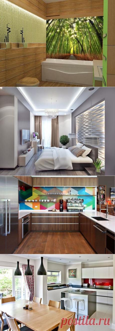Стеклянные панели в интерьере кухни | Роскошь и уют