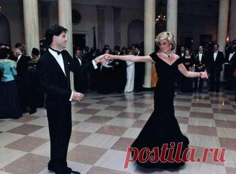 Принцесса Диана и Джон Траволта, 1985 г.