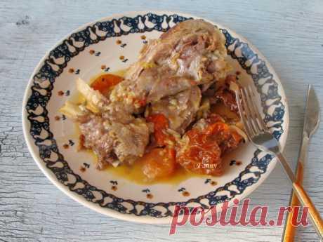 Индейка с сушеными грушами и абрикосами | Кошкин дом