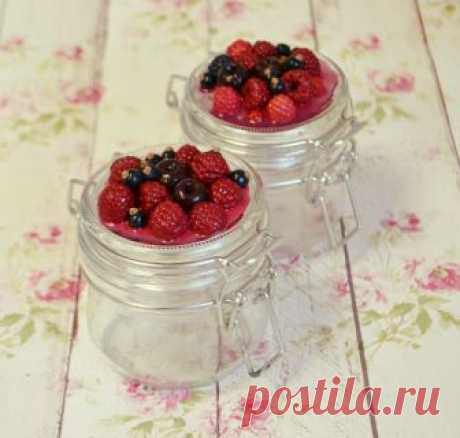 Мамуси - Баночки с ягодами из полимерной глины