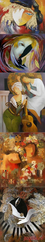 """Художник Arbe Berberyan. Выросший в Советской Армении, Arbe Berberyan, сын известного художника и профессора искусства и дизайна, открыл свою первую выставку в 12 лет. В 1970 году его картины были отправлены на два года в международное турне """"Мир глазами детей"""", посетив Францию, Италию, Канаду и Соединенные Штаты. Из 65 картин, только четыре вернулись в Армению. В 1981 году получил степень магистра в Университете искусства и дизайна в Ереване. С 1984 года художник живет и работает в Ло"""