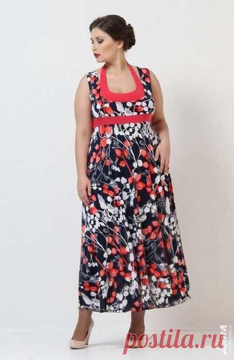 Каталог женской одежды больших размеров российской компании Lina. Весна-лето 2015
