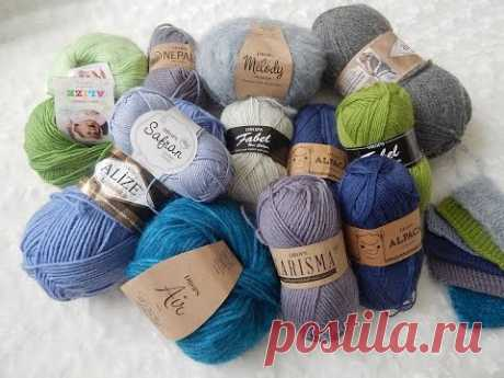 Knitting; Purchase and review of a yarn of DROPS and Alize