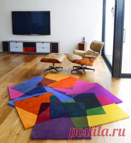 Напольные ковры для дома