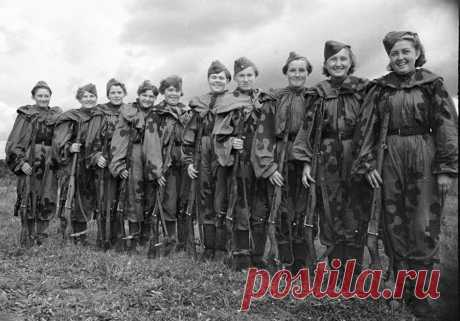7 советских женщин, которых фашисты боялись как огня | Профессионалы.ru