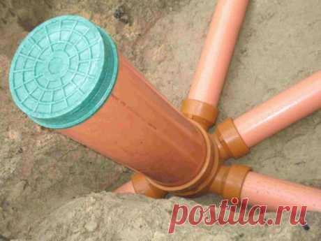 How to make a drainage well with own hands and to bring to it pipes \ud83d\udea9 Repair of a dachiya