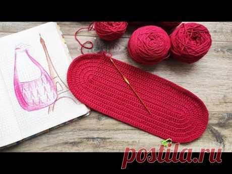 Эко сумка крючком 👜 - вторая жизнь для старой пряжи - Crochet Eco bag